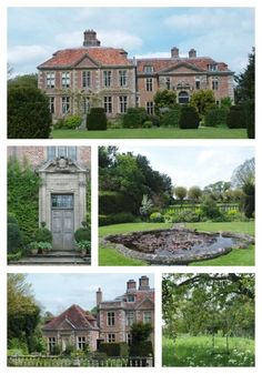 Heale House, Wiltshire, England - Penelope's home but add turrets from Horwood House