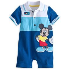 MICKEY MOUSE Pique Knit Romper