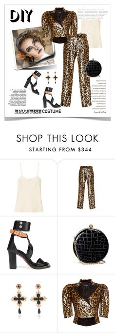 """Leo"" by angelicallxx ❤ liked on Polyvore featuring The Row, Dolce&Gabbana, Isabel Marant, Alexander McQueen, halloweencostume and DIYHalloween"
