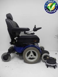 This Pride Mobility Quantum 1420 Used Power Wheelchair is in Like New Condition and was only used for 6 months! This Quantum 1420 Power Chair features a 22 x 22 inch Deluxe High Back Seat, Built in Charger, Flip Up Foot Plate, Joystick and solid tires Powered Wheelchair, Types Of Flooring, Back Seat, Baby Strollers, Charger, Pride, Chairs, Range, Baby Prams