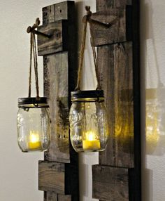 Beautifully handcrafted and designed to create a rustic-inspired setting, our reclaimed wooden wall sconces provide a wonderfully serene atmosphere that encourages calmness and relaxation