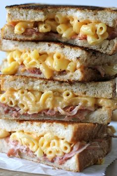 Pancetta Mac and Cheese Panini - ALL MY WANTINGS