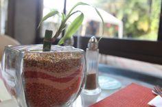 sandart tablesetting palma real restaurant  - Costa Rica