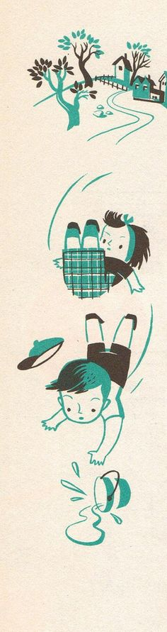 Music Round the Clock illustrated by Val Samuelson, 1955.