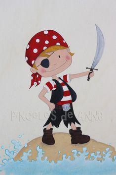 Mi pirata preferido... | By Anna Lajarin