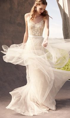 Stunning @BHLDN wedding dress