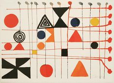 View Quilt, 1966 by Alexander Calder on artnet. Browse upcoming and past auction lots by Alexander Calder. Alexander Calder, Illustration Photo, Illustrations, Kinetic Art, Art Abstrait, Jean Arp, Modern Prints, Art Plastique, Op Art