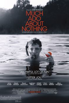Much Ado About Nothing: Check out the new poster for Joss Whedons Shakespeare adaptation -- EXCLUSIVE