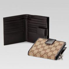 Gucci 233022 F4c7n 9643 Klappe Franz?sisch Mit Verriegelung G Anzeigen Gucci Damen Portemonnaie