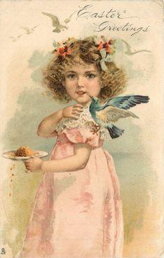 1906 Easter Postcard
