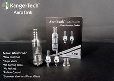 Today's product of the day, Kanger Aero Tank. Just look at it, it's a beast! Awesome clouds & actually enhances flavors. You gotta try one today!! #vape #ecigarette #ecig #ecigs #electroniccigarettes #vaping #vapor #eliquid #ejuice