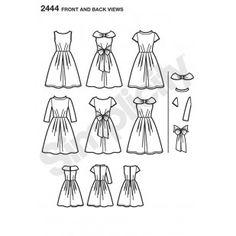 2444 - Dresses - Simplicity Patterns