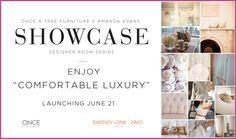Designer Showcase with Amanda Evans, Twenty One Two Designs inc. Tree Furniture, First Second, Twenty One, The Twenties, Evans, Amanda, Designers, Product Launch, Inspiration