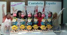 Taller en Cantabria- España  Escuela: Magia Sweet. diciembre- 2013