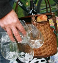 Govino glasses (from the August 2012 box) are the perfect picnic option!