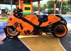 Custom Street Bikes, Custom Sport Bikes, Custom Motorcycles, Motorcycle Design, Motorcycle Bike, Custom Hayabusa, Hot Bikes, Super Bikes, Biker Girl