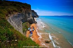 Loggas Beach (Peroulades) Going On A Trip, Beaches, To Go, Water, Travel, Outdoor, Image, Corfu, Gripe Water
