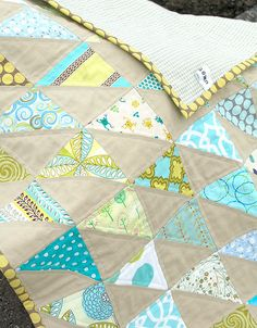 MODERN BABY BOY'S QUILT FINISHED by suejoy70, via Flickr