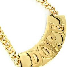 Chunky Necklace Name:Dope Material: Metal Jewelry Necklaces