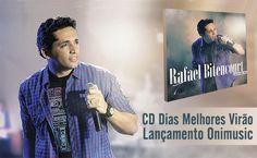Chegou o CD Dias Melhores Virão, mais novo lançamento de Rafael Bitencourt!  O CD Dias Melhores Virão é o quarto CD de Rafael Bitencourt e o seu primeiro em caráter solo. Canções que refletem os momentos de intimidade e comunhão com o Espírito Santo. (...)  Saiba mais: http://www.onimusic.com.br/oninews/oninews_dt.aspx?IdNoticia=313&utm_campaign=rafael-bitencourt-lancamento&utm_medium=post-11fev&utm_source=pinterest&utm_content=cd-dias-melhores-virao-lancamento-onimusic-oninews