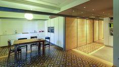 Casa equipada com o desenho de cozinha LINE-E Branca seff de Santos