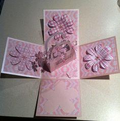handmadebysara - exploding box card