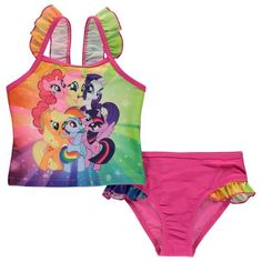 Lasten My Little Pony tankini uimapuku