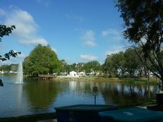 Lovely Veterans park in Port Orange, Fl.  This past weekend's craft show