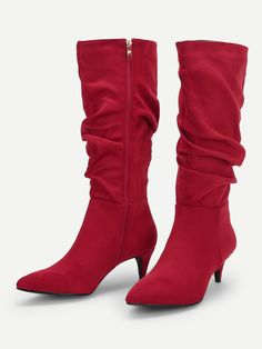 b72d6d090e Lattice Detail Side Buckle Knee High Riding Boots | Products | Pinterest |  Riding Boots, Boots and Heels
