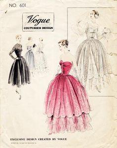 Vogue Couturier Design 601 dress