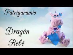 Dragón bebé amigurumi!! - YouTube
