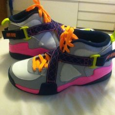 Nike air raid Outdoor use only new bright color very very comfy Nike Shoes Sneakers