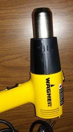 Wagner Heat Gun Model HT1000 120VAC/10AMP/1200W #WAGNER