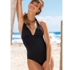 Banana Moon Dazzling Cheadle Halter One Piece Bathing Suit By Banana Moon