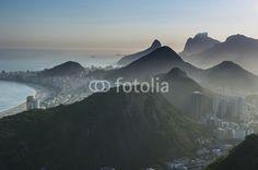 View from the Sugarloaf, Rio de Janeiro, Brazil, South America