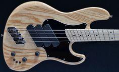 Dingwall SJ4 x 3 4 string, natural gloss Dingwall Bass Guitars:, Fan frets, Jazz bass :: For sale, UK, EU, 4 string bass