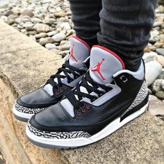 7ae2f13e063c What did you wear today    Air Jordan 3  Black Cement