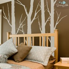 I am obsessed with this!!! Google offers has a good deal right now for these removable wall decals!
