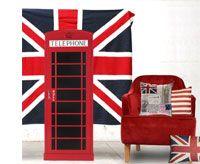 Déco chambre ado London, Union Jack   DECO