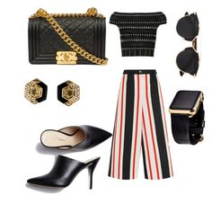 """""""Untitled #523"""" by giselaturca on Polyvore featuring Dolce&Gabbana, Alexander McQueen, 3.1 Phillip Lim, Chanel, Christian Dior, Hadoro, women's clothing, women, female and woman"""