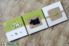 PULI kutya beige-zöld falikép kollekció babaszobába, gyerekszobába (NoaNoa) - Meska.hu Techno, Usb Flash Drive, Diy, Bricolage, Do It Yourself, Techno Music, Homemade, Diys, Crafting