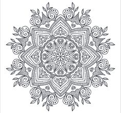 This Mandalas perfect for Posters, Greeting Cards, Textile design and Tattoo. ZIP includes: 7 (Round ornaments) + 7 PNG image х 3125 px 300 dpi) Mandala Art, Mandala Drawing, Mandala Pattern, Zentangle Patterns, Zentangles, Pattern Coloring Pages, Printable Adult Coloring Pages, Mandala Coloring Pages, Coloring Book Pages