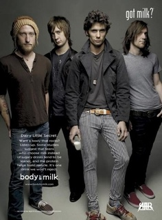 All-American Rejects-super great for a night jogging.  no one can see you singing and crying and running at the same time.  isn't this ad super random??