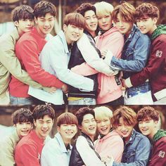 Hyungwon, Shownu, Kihyun, Jooheon, Minhyuk, Wonho, I.M ♡ I love them and they love each other. I'm so happy for them especially since I watched No Mercy.