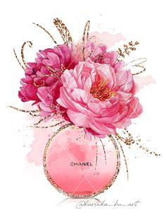 Floral Fashion illustration on Behance Chanel Wallpapers, Cute Wallpapers, Chanel Wall Art, Fashion Wallpaper, Fashion Wall Art, Floral Fashion, Art Prints, Drawings, Artwork