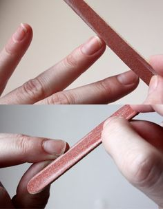 the perfect manicure diy.  this is pretty much what i do already