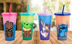 Excited to share this item from my shop: 24 oz Color Changing Tumbler, Personalized Color Changing Cup, Disney Inspired Characters Cup,Baby Alien Cup Personalized Starbucks Cup, Custom Starbucks Cup, Personalized Cups, Copo Starbucks, Disney Starbucks, Starbucks Crafts, Disney Tassen, Comida Disney, Disney Cups