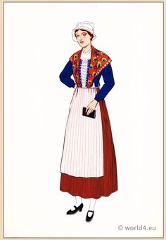 French Folk Dress