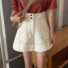 Color Yellow, Wide Leg, Short Dresses, China, Legs, Cotton, Products, Women, Fashion