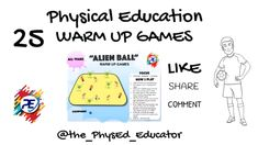 Fun Warm Up Games, Fun Games For Kids, Physical Education Lesson Plans, Elementary Physical Education, Pe Ideas, Awesome Games, Pe Games, Learning Goals, Help Teaching